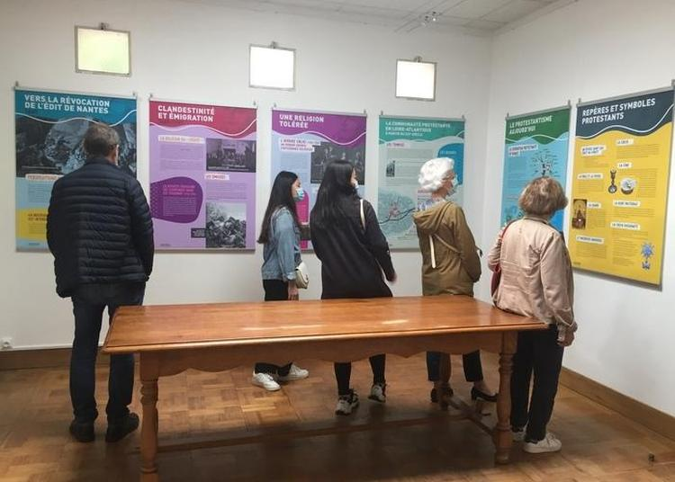 Exposition Et Visite Commentée L'histoire Du Protestantisme En France Et En Loire-atlantique Du Xvie Siècle à Nos Jours. à Nantes