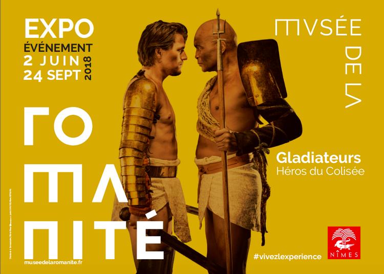Gladiateurs, héros du Colisée à Nimes