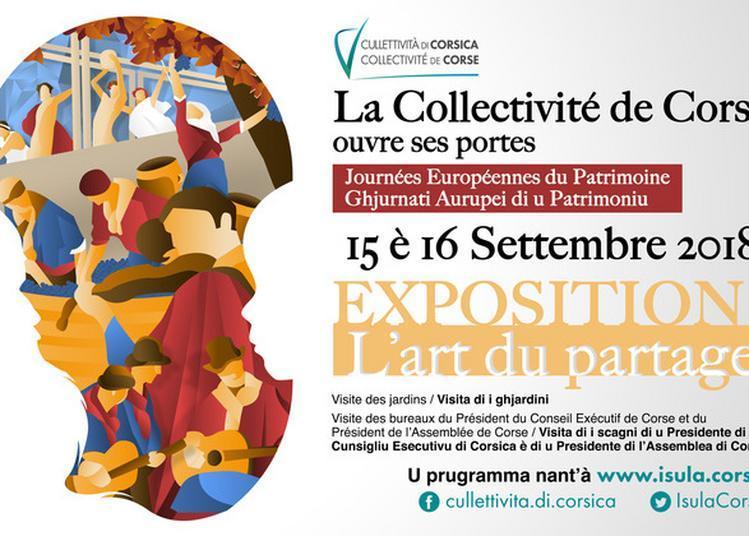 Exposition : L'art Du Partage à Ajaccio