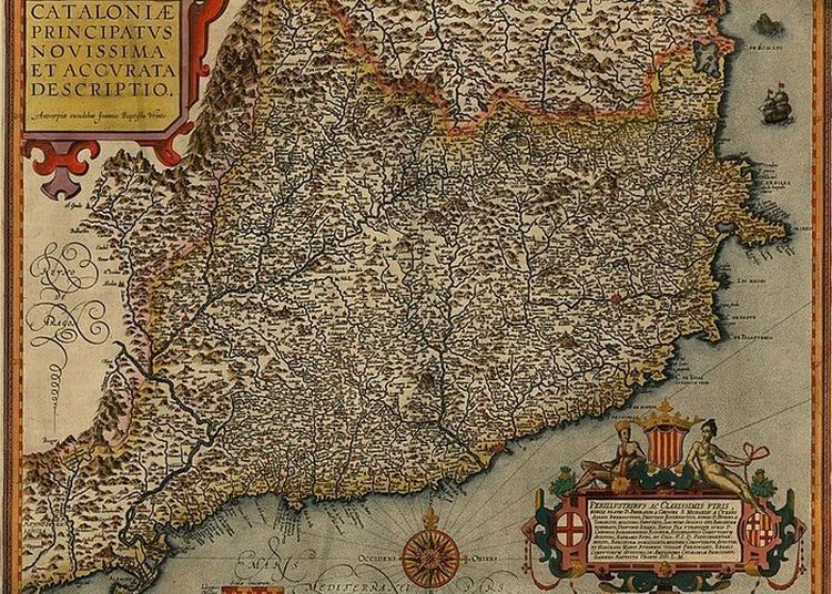 Exposition L'espace Catalan Dans La Cartographie Du Xviie Siècle à Nos Jours à Prades