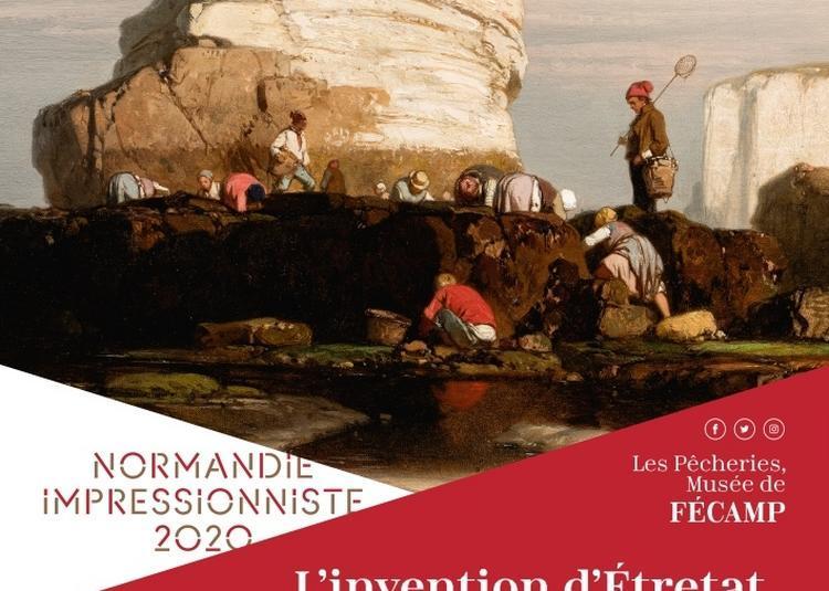 L'invention d'Étretat - Eugène Le Poittevin, un peintre et ses amis à l'aube de l'impressionnisme à Fecamp