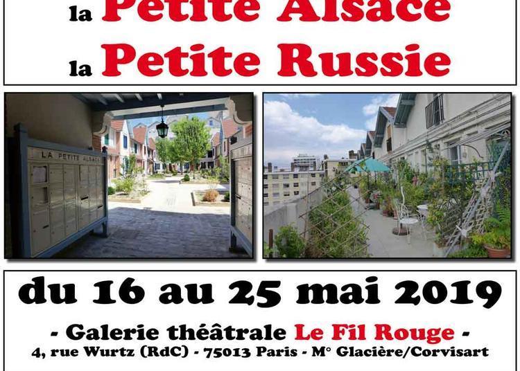 La Butte-aux-Cailles, la Petite Alsace, la Petite Russie à Paris 13ème