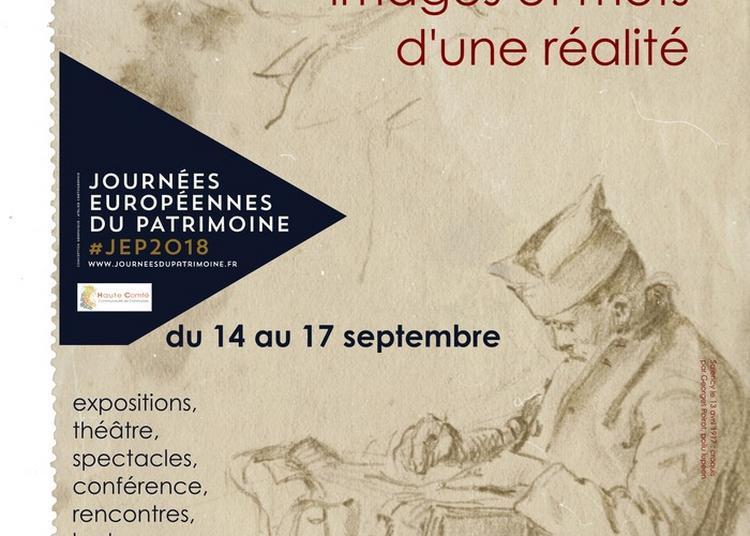 Exposition La Grande Guerre En Haute Comté : Images Et Mots D'une Réalité à Corbenay