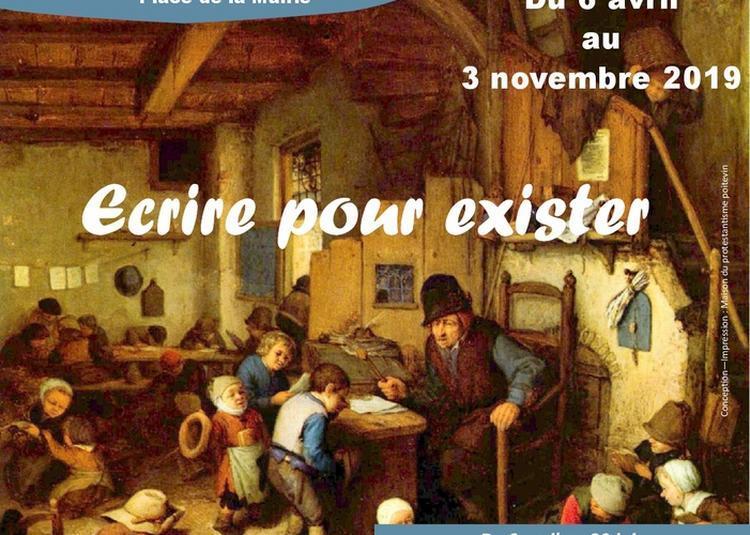 Exposition : « Écrire Pour Exister » à Beaussais