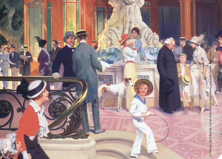 Exposition « Évian Mondain, L'âge D'or Du Thermalisme » à Evian les Bains