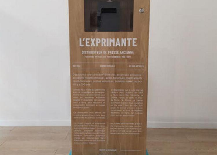 Exposition « La Presse Ancienne Locale Avec L'exprimante » à Annecy