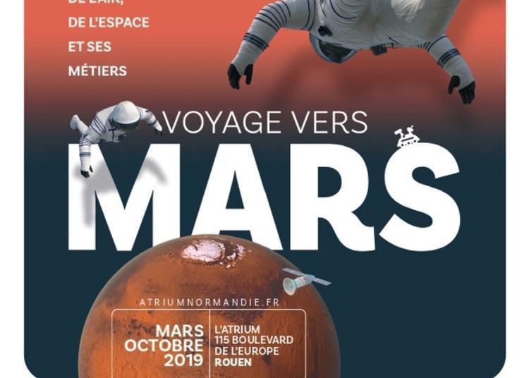 Exposition « Voyage Vers Mars » à Rouen