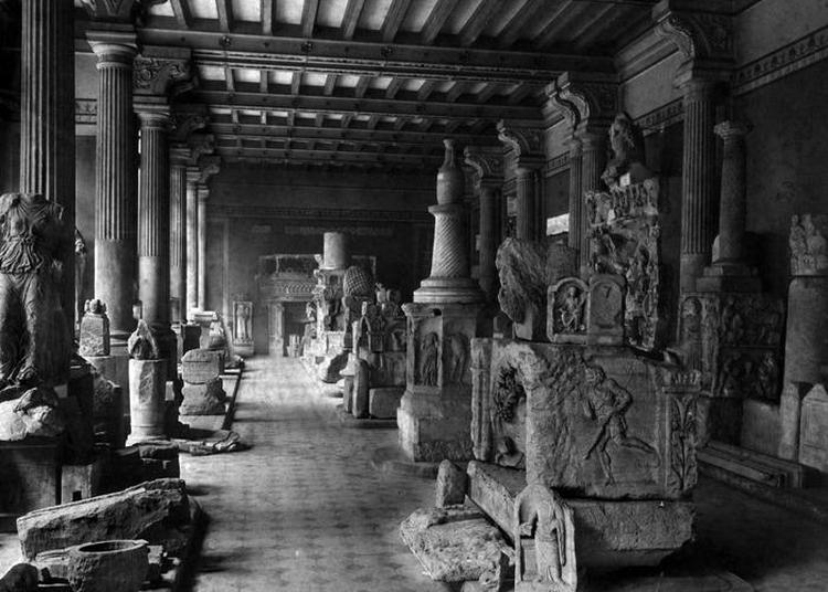 Exposition Le Musée En Noir Et Blanc. Deux Siècles En Images à Metz