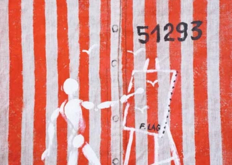 Exposition : Le Rouge Et Le Blanc, Les Peintures Du Bagne à Pont l'Eveque