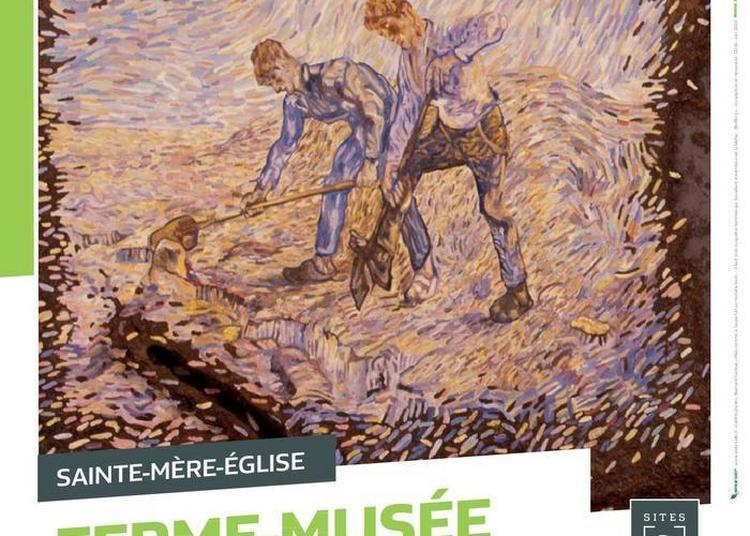 Exposition Les Travailleurs De La Terre. Oeuvres De Bernard Clarisse à Sainte Mere Eglise