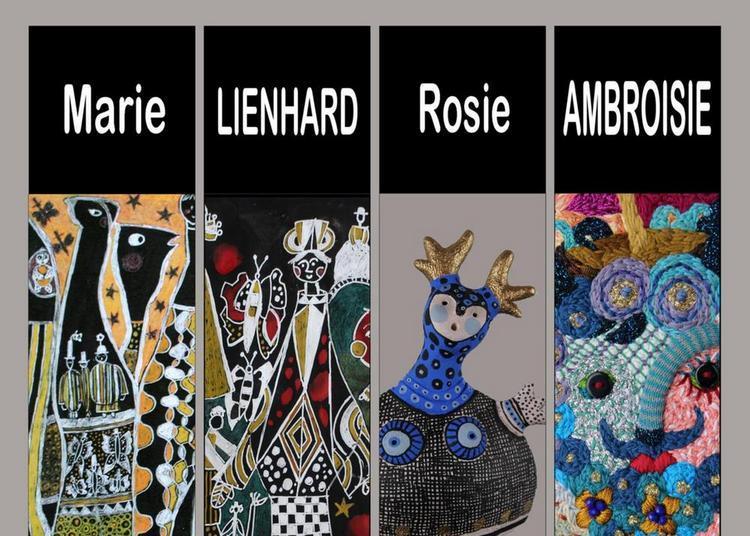 Exposition M. Lienhard-R. Ambroisie à Usson