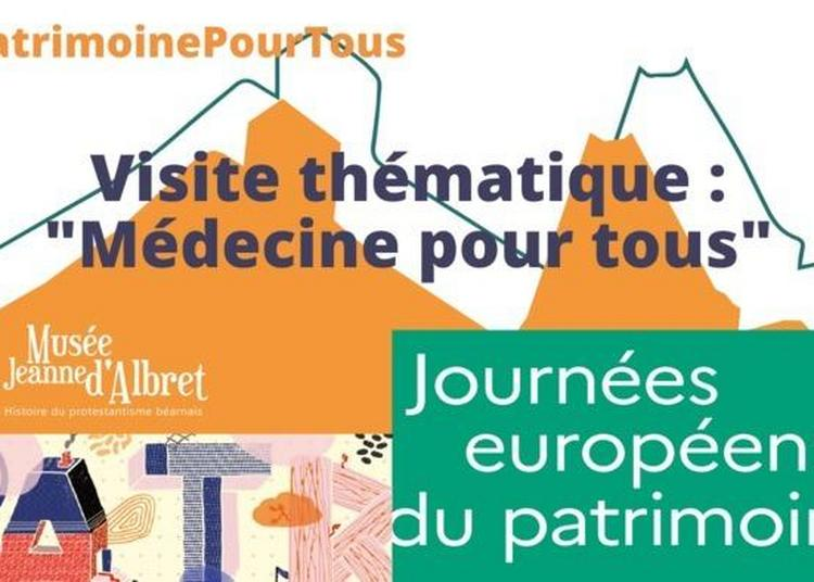 Exposition Médecine Pour Tous à Orthez