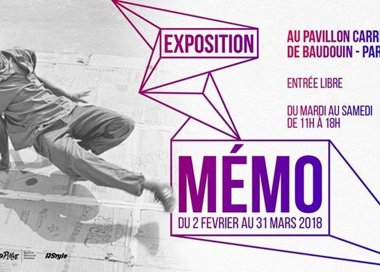Exposition MÉMO à Paris 20ème