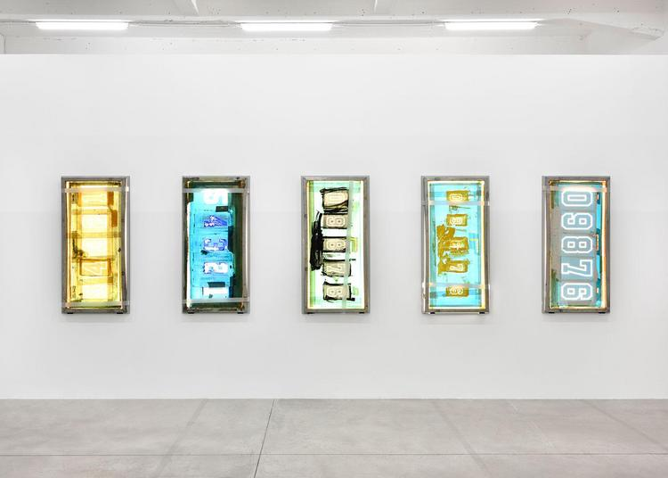 Exposition monographique de l'artiste Nick Relph à Dijon