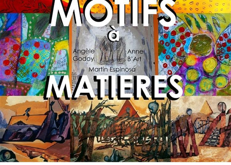 Exposition Motifs à Matières à Aix en Provence