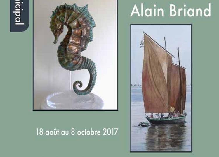 Exposition Nadia Treni et Alain Briand à Moret sur Loing