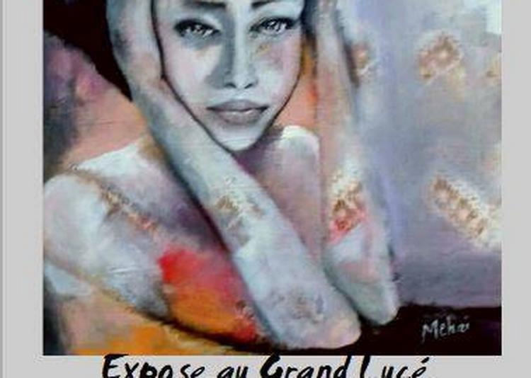 Exposition oeuvres de Mehri VAKILI à Le Grand Luce