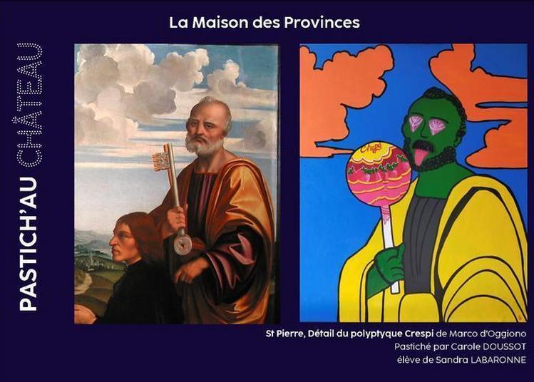 Exposition Pastich'au Château à Blois