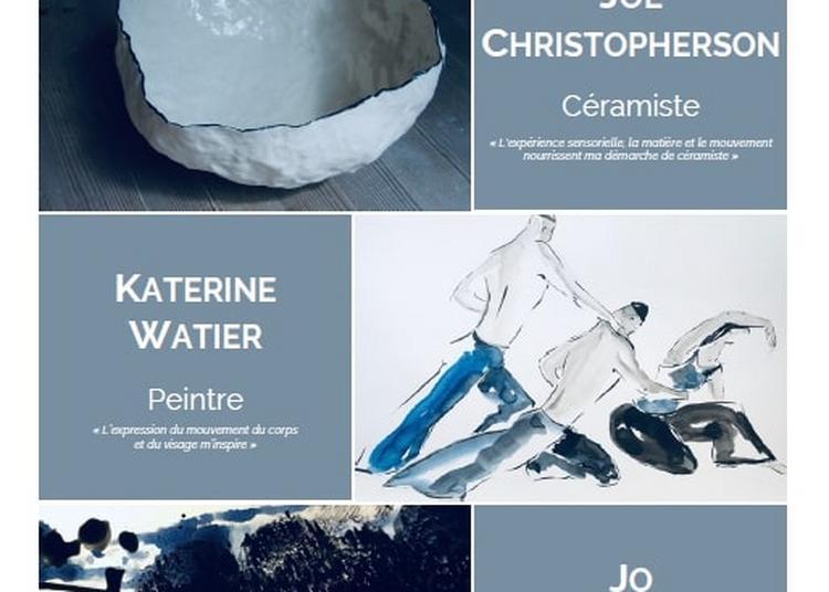 Exposition peinture-céramique par K. Watier, J. Trublard et J. Christopherson à Villers sur Mer