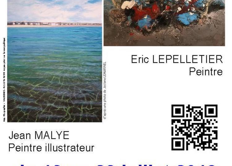 Exposition Peinture de Eric Lepelletier et Jean Malye à Barneville Carteret