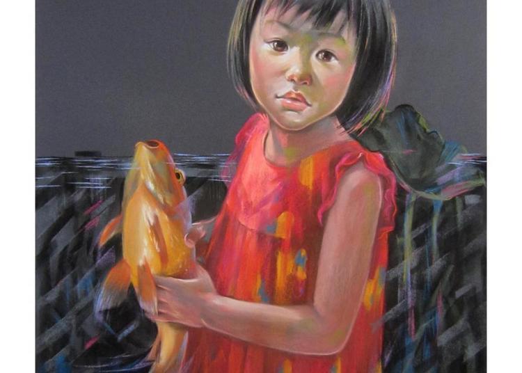 Exposition peinture Kim Chi Nguyen à Villers sur Mer