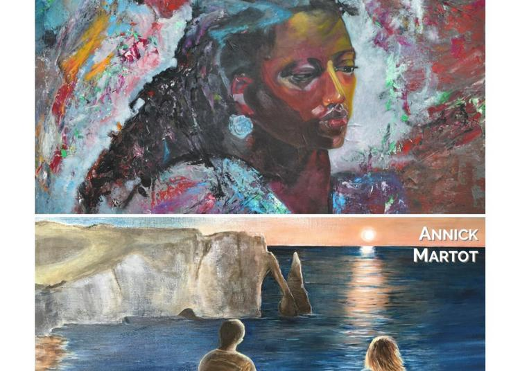 Exposition peinture Patricia Joignant et Annick Martot à Villers sur Mer