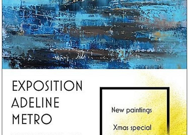 Exposition peintures Adeline Métro au Golf de St Donnat à Nice