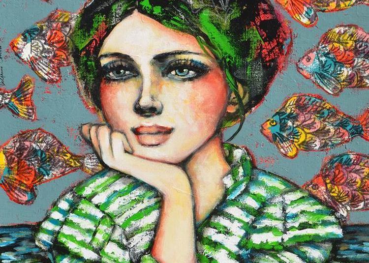 Exposition peintures Delphine COSSAIS à Nantes