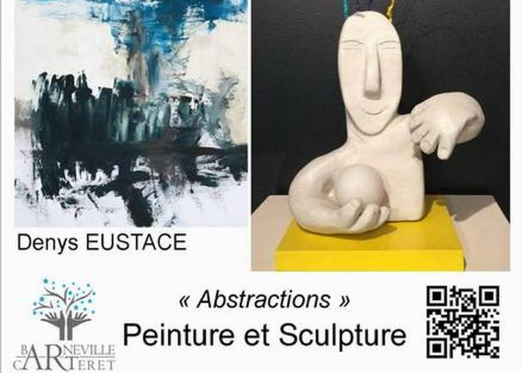 Exposition peintures et sculptures de Denys Eustace et Michèle Sou à la salle du Parc à Barneville Carteret