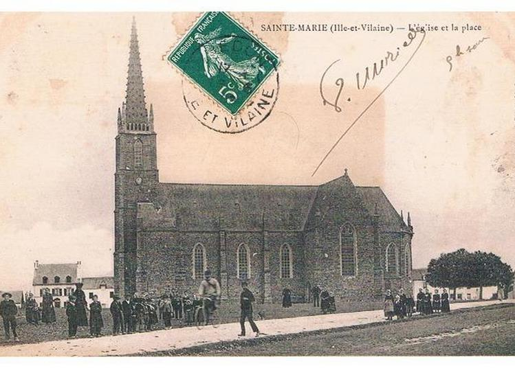 Exposition Photos Sainte-marie Autrefois Dans La Chapelle Saint-jean D'epileur (cl Mh 1990) à Sainte Marie