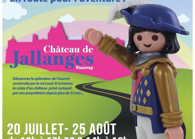 Exposition Playmobil au Château de Jallanges à Vouvray