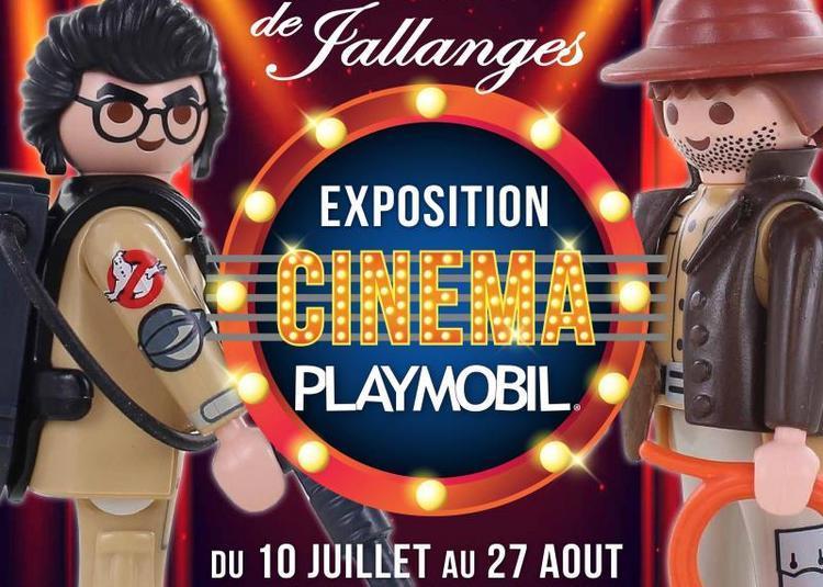 Exposition Playmobil sur le Cinéma au Château de Jallanges à Vernou sur Brenne
