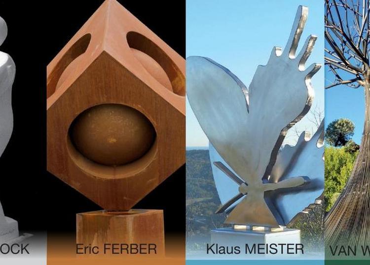 Exposition 4 sculpteurs / 4 visions à Grimaud