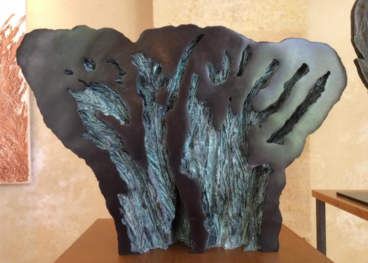 Exposition Sculpture Sur Bronze à La Ferte Milon