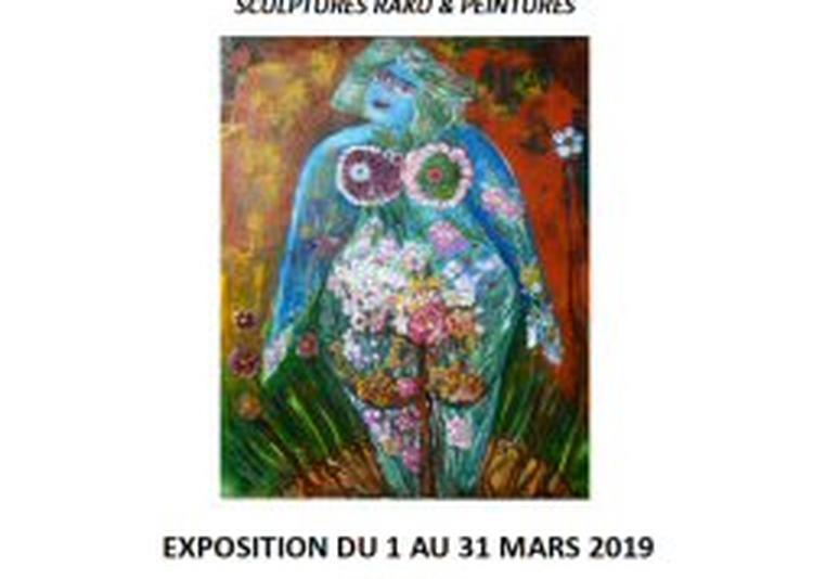 Exposition Sculptures Raku Et Peintures à Toulouse