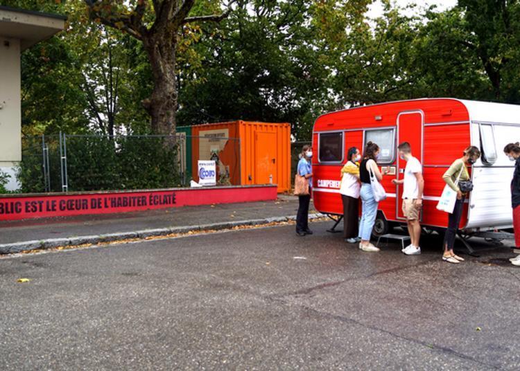 Exposition Sonore Et Visuelle Aux Bains-douches Delessert à Lyon