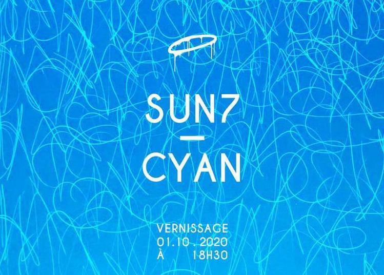 Exposition .// SUN 7 - CYAN .// Backside Gallery à Marseille