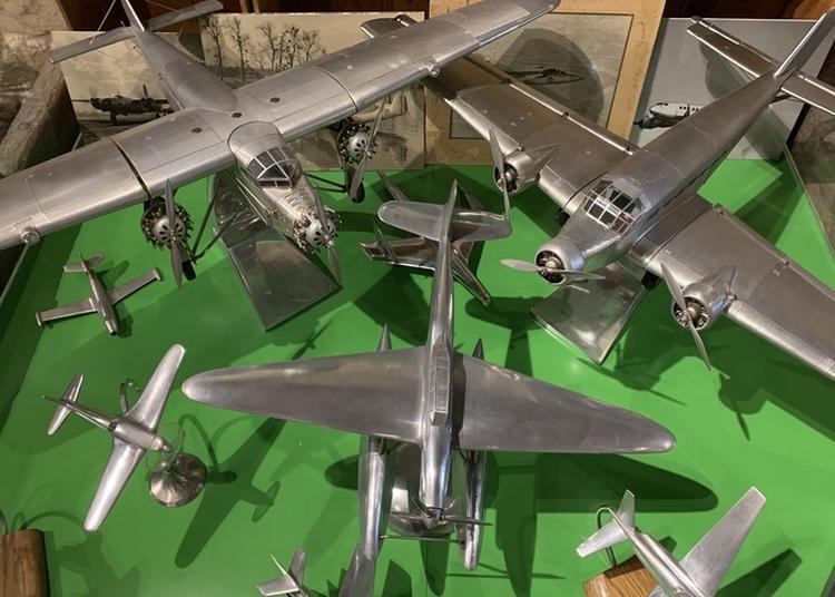 Exposition Sur L'histoire De L'aviation à Beautiran