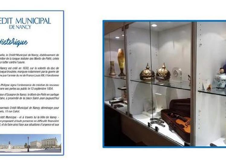 Exposition Sur L'histoire Du Crédit Municipal De Nancy