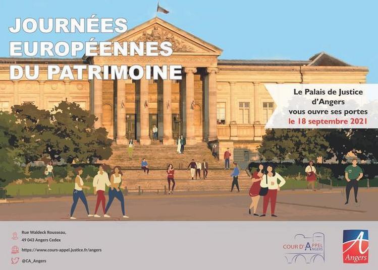 Exposition Sur L'histoire Du Palais De Justice à Angers