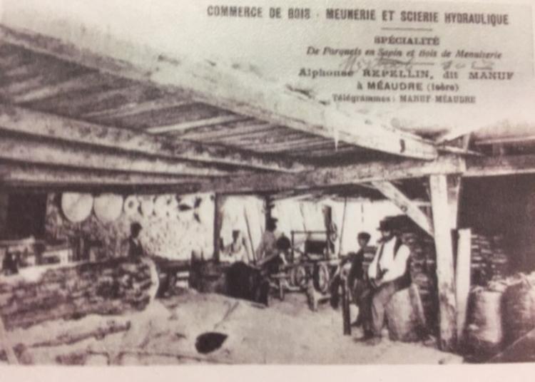 Exposition Sur Les Moulins De Méaudre Autrefois à Meaudre