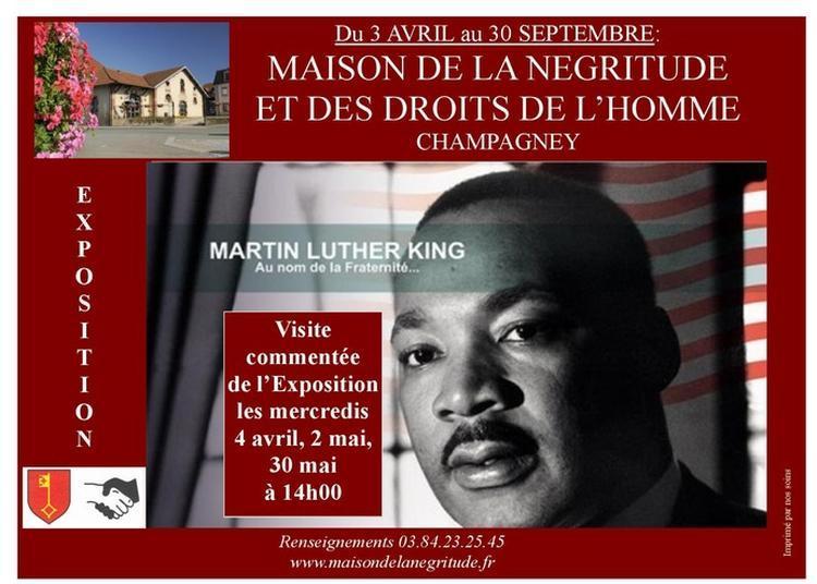 Exposition Temporaire Martin Luther King Au Nom De La Fraternité à Champagney