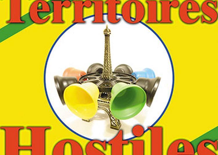 Exposition Territoires Hostiles de Luc Barrovecchio à Paris 18ème