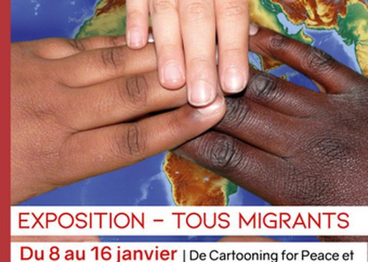 Exposition |tous Migrants | à Macon