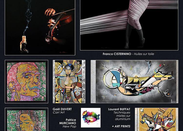 Exposition United Guest Artists sur 2 lieux à Valence