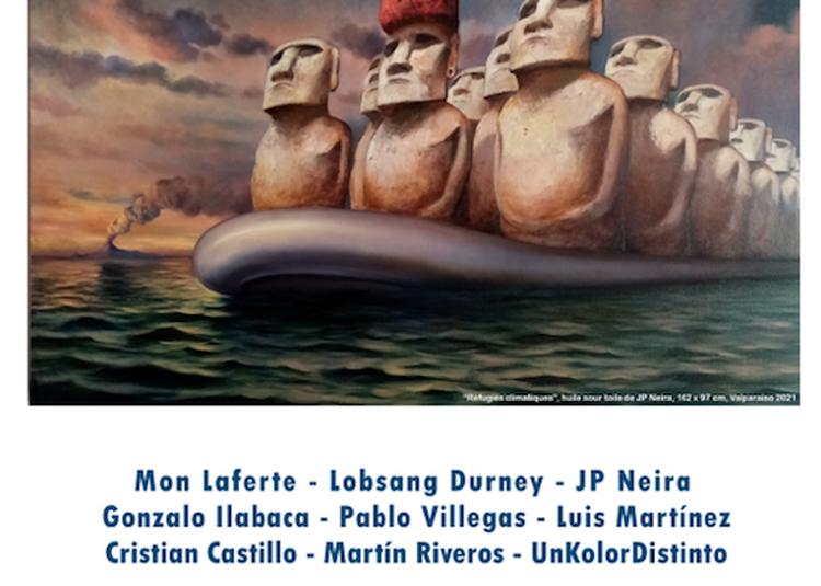 Exposition Utopies Latino-américaines à Paris 3ème