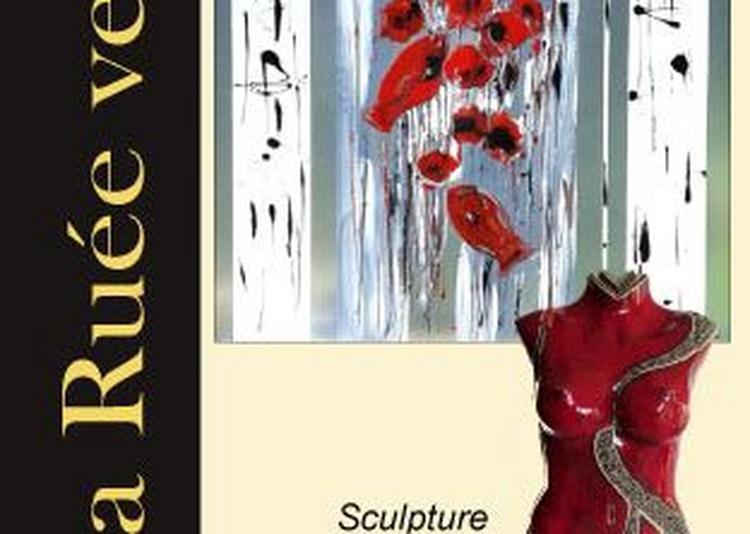 Exposition VILCAZ peintures et MYR sculptures à Muret