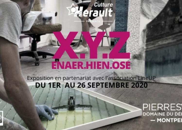 Exposition X.y.z Enaer, Hien Et Ose à Montpellier
