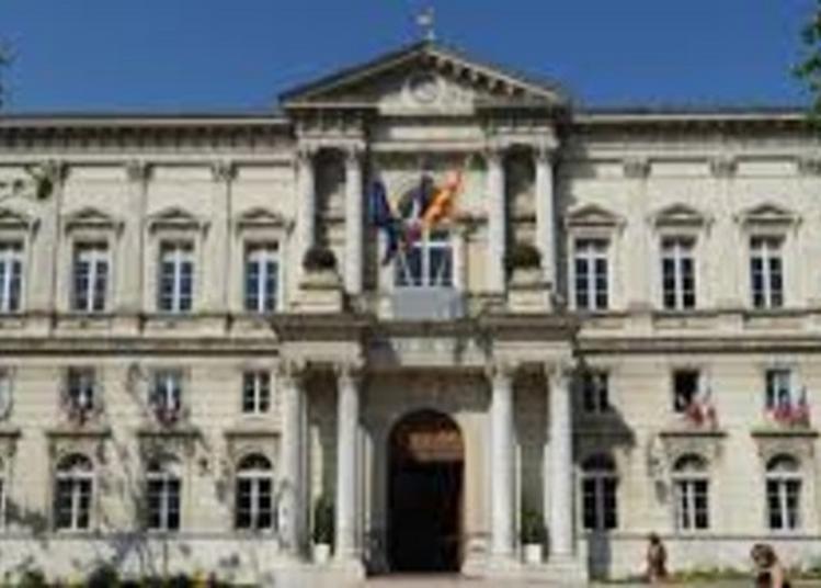 Expositions Et Projection à  L'hôtel De Ville à Avignon