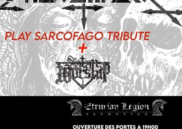 Fabio Jhasko Plays Sarcofago Tribute + Satan Worship à Saint Jean de Vedas